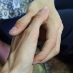 Welche Hand ist echt?