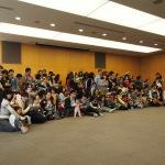 """Beim """"Sansho no kai"""", einem jährlichen Treffen von Frühcheneltern und ihren Kindern an der Tokyo Women's Medical University. (c) Sonja Blaschke"""