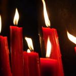 Kerzen am Longshan Temple in Taipei. (c) Sonja Blaschke