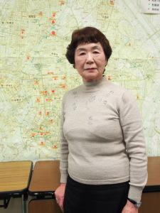 Haruyo Nihei überlebte den Bombenangriff auf Tokio 1945. (c) Sonja Blaschke