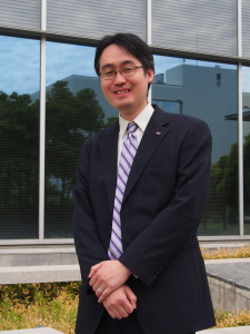 Dr. Haruo Miyadera at the Toshiba research facility in Isogo. Photo: Sonja Blaschke