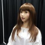 Eine Kreation von Roboter-Erfinder Ishiguro. (c) Sonja Blaschke